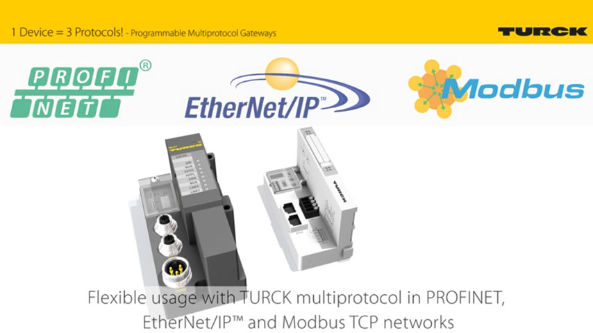 Programmierbare Ethernet-Gateways in IP20 und IP67