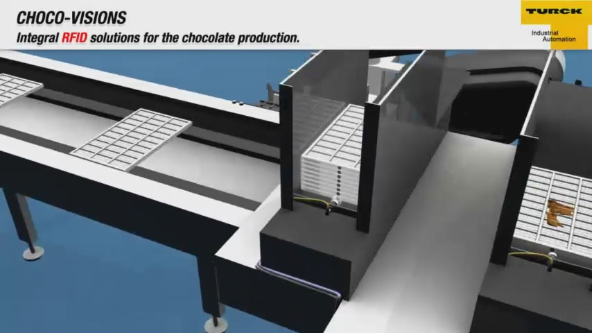 Applicationsvideo: Integral RFID solutions for the chocolate production